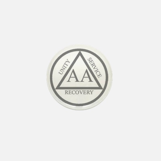 AA symbol Mini Button