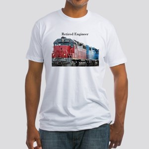 Train Retired Engineer T-Shirt