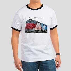 Train Retired Conductor T-Shirt