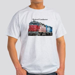 Train Retired Conductor T-Shirt