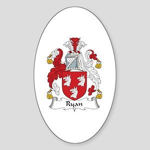 Ryan Oval Sticker