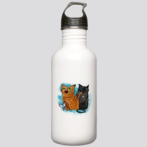 Crazy Love Cats Water Bottle