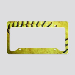 Softball License Plate Holder