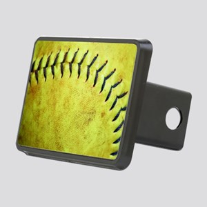 Softball Rectangular Hitch Cover