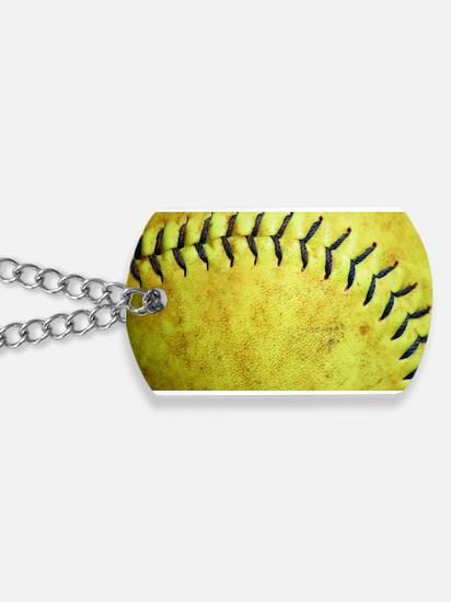 Softball Dog Tags
