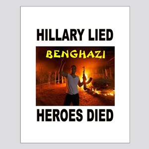 HILLARY LIED Posters