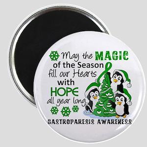 Gastroparesis Christmas Penguins Magnet