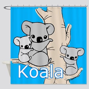 Koala Bears Shower Curtain