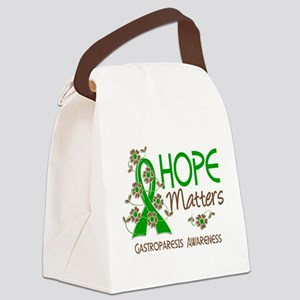 Gastroparesis Hope Matters 3 Canvas Lunch Bag