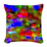 Navigating Woven Throw Pillow