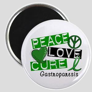 Gastroparesis Peace Love Cure 1 Magnet