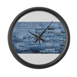 In the same boat Large Wall Clock