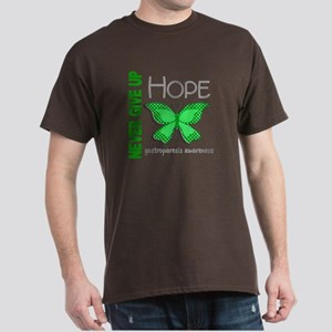 Gastroparesis Never Give Up Hope Dark T-Shirt