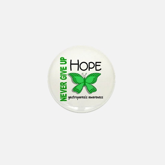 Gastroparesis Never Give Up Hope Mini Button