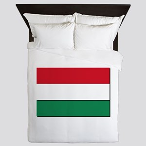 Hungary Flag Queen Duvet