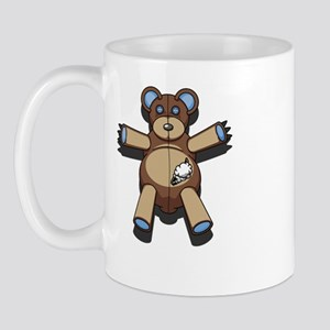 Nurse's Day Teddy Bear Mug