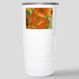 Sunflowers by Van Gogh Travel Mug
