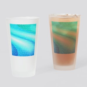 Abstract cuboid Drinking Glass