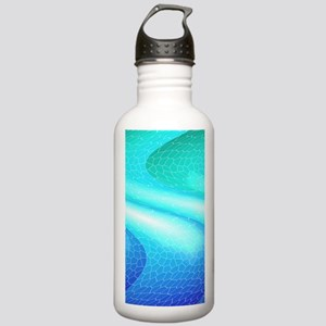 Abstract cuboid Water Bottle