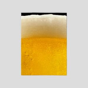 Beer 5'x7'area Rug