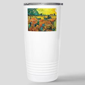 Van Gogh Red Vineyard Travel Mug