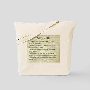 May 20th Tote Bag