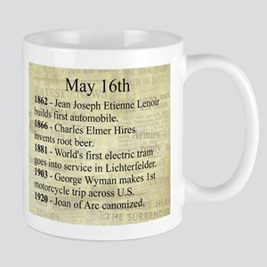 May 16th Mugs