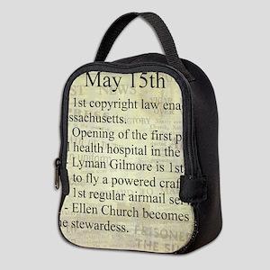May 15th Neoprene Lunch Bag