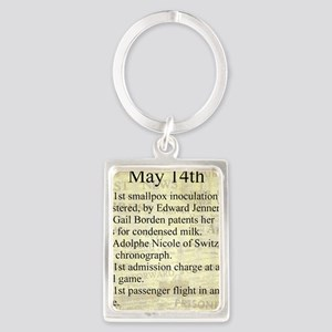 May 14th Keychains