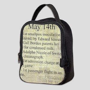 May 14th Neoprene Lunch Bag