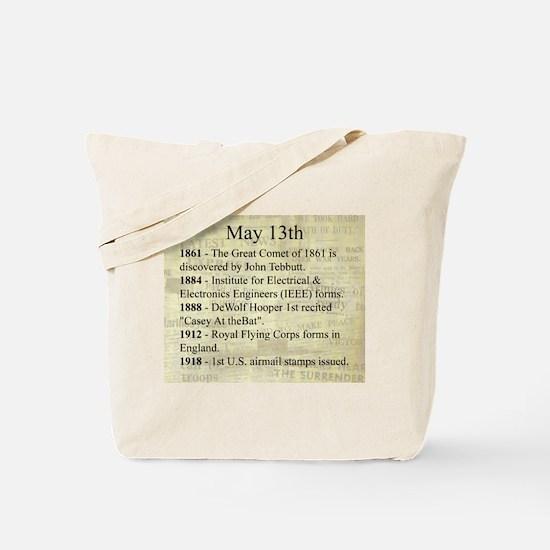 May 13th Tote Bag