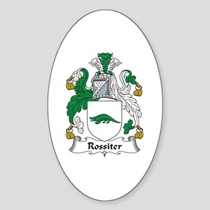Rossiter Oval Sticker