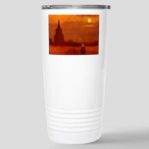 Van Gogh Old Tower Travel Mug