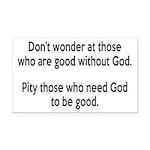 Good Without God Atheism Rectangle Car Magnet