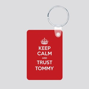 Trust Tommy Keychains