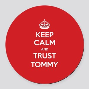 Trust Tommy Round Car Magnet