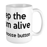 Keep The Dream Alive Large Mug