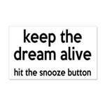 Keep The Dream Alive 20x12 Wall Decal