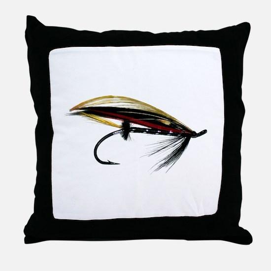 """Fly 1"" Throw Pillow"