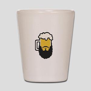 Beer Beard Shot Glass