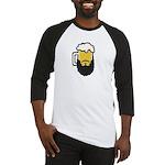 Beer Beard Baseball Jersey
