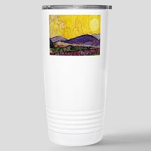 Van Gogh Sunrise over Field Travel Mug