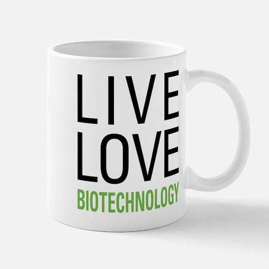 Live Love Biotechnology Mug