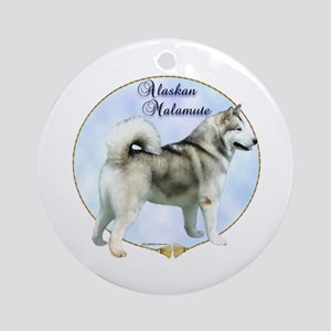 Mal Portrait Ornament (Round)