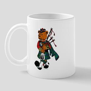 Jimmie the Scottish Piper Bear Mug