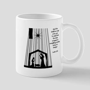 Luke 2:12 Mugs
