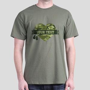 PD Army Camo Heart Dark T-Shirt