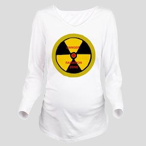 Radiation zone Long Sleeve Maternity T-Shirt