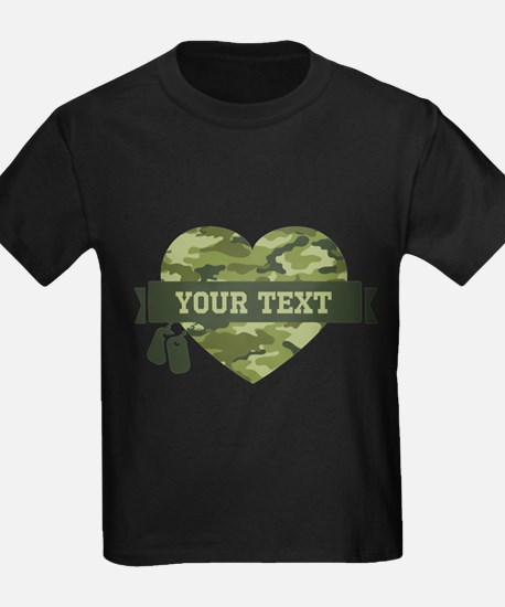 PD Army Camo Heart T