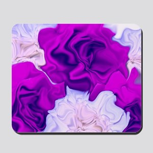 incredible flowers,pink lila Mousepad